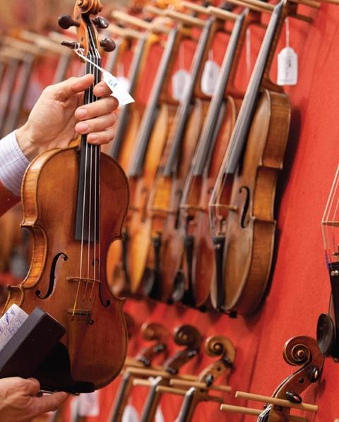 Comprar un violín