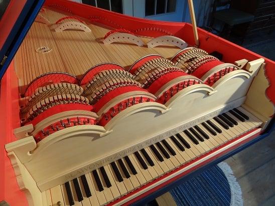 Viola organista – uno de los instrumentos musicales de Leonardo daVinci