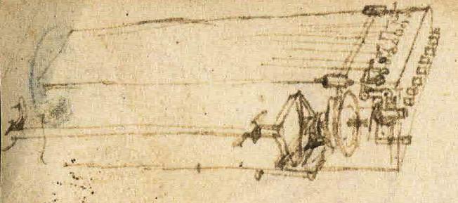 Boceto de viola organista