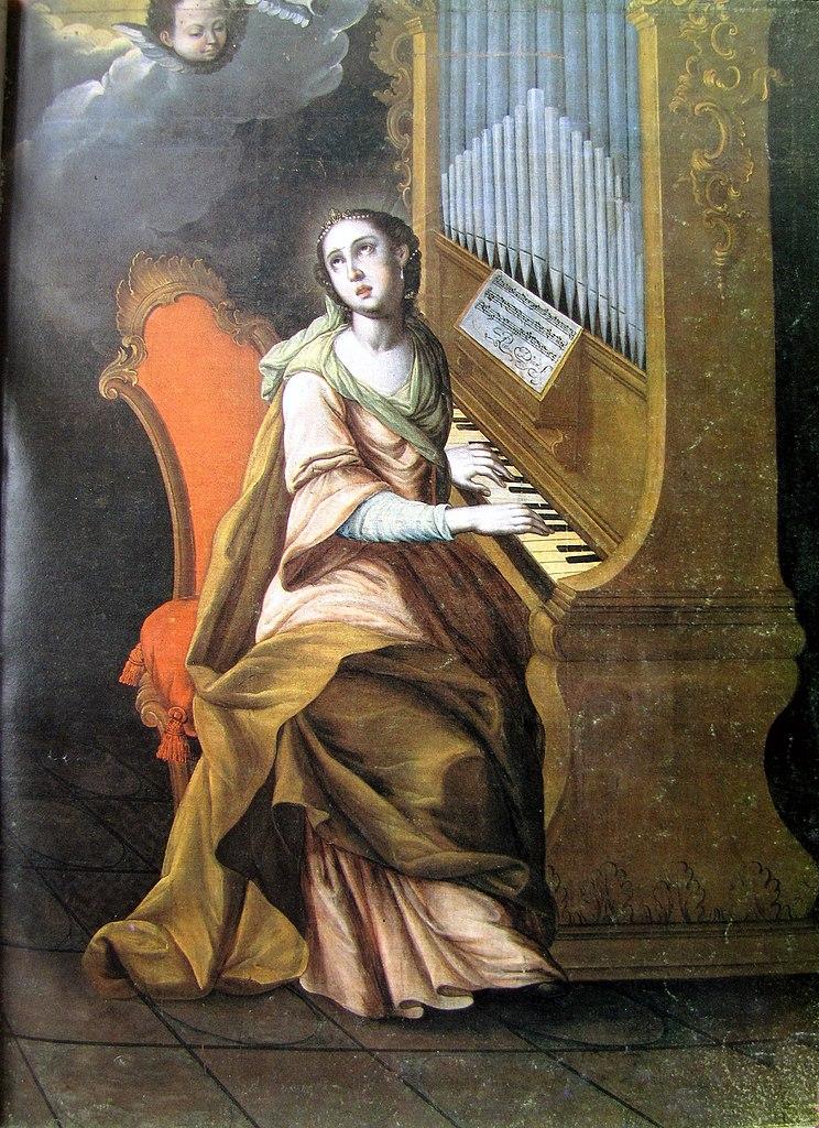 Santa Cecilia - Pedro Díaz ,1770